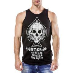 Майка Headrush Spade Skull - черный