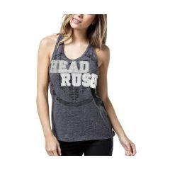 Женская майка Headrush Bold Rush - серый