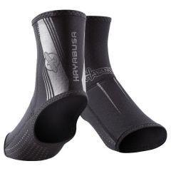Защита голеностопа Hayabusa Ashi MMA Foot Grips - черный/серый