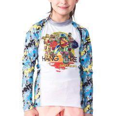 Детский рашгард Fusion TMNT Hang Three
