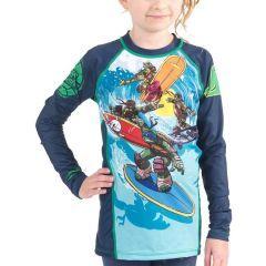 Детский рашгард Fusion TMNT Sewer Surfin'