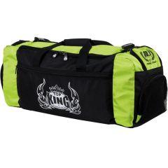 Спортивная сумка Top King - черный/зеленый