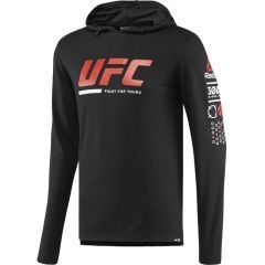 Худи Reebok UFC Ultimate Fan - черный