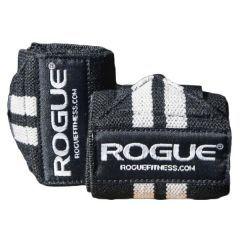 Кистевые бинты Rogue Wrist Wraps - черный/белый