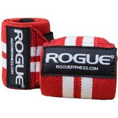 Кистевые бинты Rogue Wrist Wraps - красный/белый