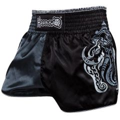 Тайские шорты Hayabusa Elephant - черный/серый