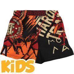 Детские мма шорты Hardcore Training Sparta Black