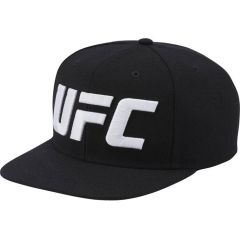 Снэпбэк (бейсболка) Reebok UFC - черный