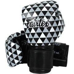 Боксерские перчатки Fairtex BGV-14 - черный/белый/серый