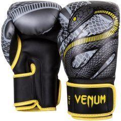Боксерские перчатки Venum Snaker - черный/серый