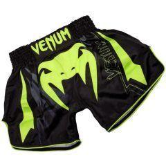Тайские шорты Venum SHARP 3.0 - черный/салатовый