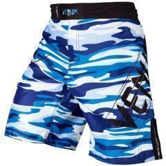 ММА шорты Venum Wave Camo - синий