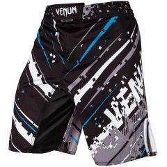 ММА шорты Venum Pixel - черный/белый