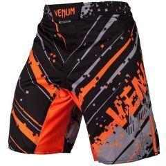 ММА шорты Venum Pixel - черный/оранжевый