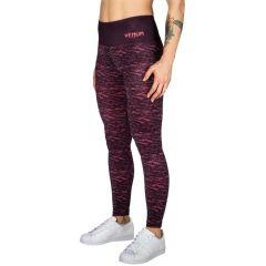 Женские компрессионные штаны Venum Camoline - черный/розовый