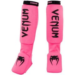 Шингарды (накладки на ноги) MMA Venum Kontact - розовый