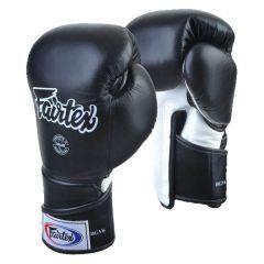 Боксерские перчатки Fairtex BGV6 - черный/белый