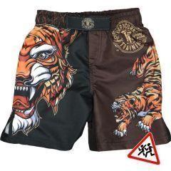 Детские мма шорты Hardcore Training Tiger