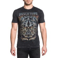 Футболка Affliction A Frame Chrome