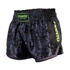 Шорты для тайского бокса Manto Silver
