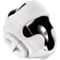 Боксерский шлем Venum Elite - белый