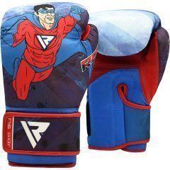 Детские боксерские перчатки RDX JBS 9U MOTIF
