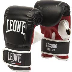 Снарядные перчатки Leone Contact - черный/красный