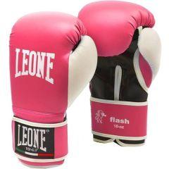 Боксерские перчатки Leone Flash - розовый