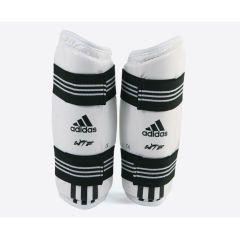 Защита предплечья для тхэквондо Adidas WTF Forearm Protector белая