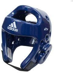 Шлем для тхэквондо Adidas Head Guard Dip Foam WTF синий