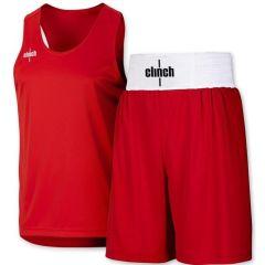 Форма боксерская Clinch красная