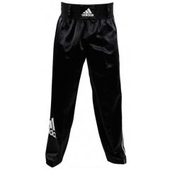 Брюки для кикбоксинга Adidas Kick Boxing Pants Full Contact черные