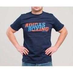 Футболка Adidas Graphic Tee Boxing серая