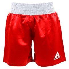 Шорты боксерские Adidas Multi Boxing Shorts красные