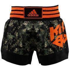 Шорты для кикбоксинга Adidas Kick Boxing Short Sublimated камуфляжные