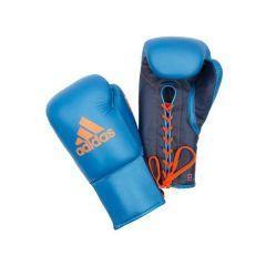 Перчатки боксерские Adidas Glory Professional сине-оранжевые