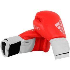 Перчатки боксерские Adidas Hybrid 100 красно-белые