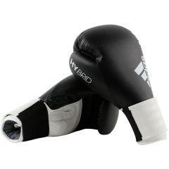 Перчатки боксерские Adidas Hybrid 100 черно-белые
