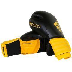 Перчатки боксерские Adidas Hybrid 100 черно-желтые