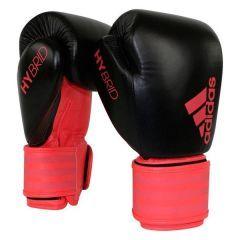 Перчатки боксерские Adidas Hybrid 200 Dynamic Fit черно-красные