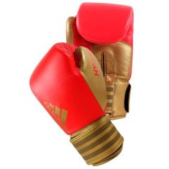 Перчатки боксерские Adidas Hybrid 200 красно-золотые