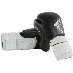 Перчатки боксерские Adidas Hybrid 300 черно-белые