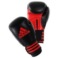 Перчатки боксерские Adidas Power 100 черно-красные