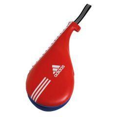 Ракетка для тхэквондо двойная Adidas Kids Double Target Mitt красно-синяя