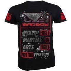 Футболка Bad Boy MMA - черный/красный