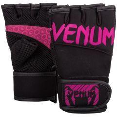 Атлетические перчатки Venum - черный/розовый