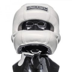 Боксерский Шлем Ultimatum Boxing Gen3FaceBar WhiteForce