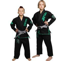 Детское кимоно (ги) для БЖЖ Jitsu Crocodile - черный