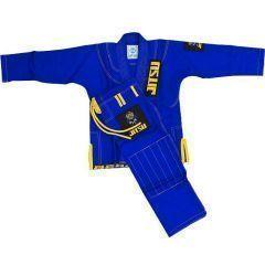 Детское кимоно (ги) для БЖЖ Jitsu Lion - синий