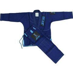 Детское кимоно (ги) для БЖЖ Jitsu Wolf - синий